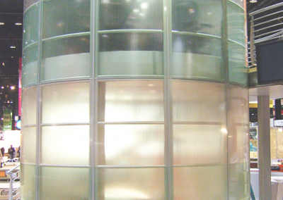 2 story circular room