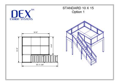 10 x 15 Option 1