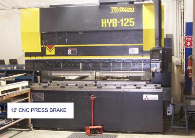 12'CNC Press brake