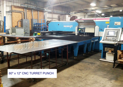 60 x 120 CNC Turret punch