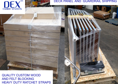 Deck and Guardrail shipping