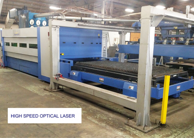 High Speed Optical Laser with handling system