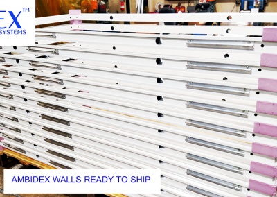 Walls ready for shipping