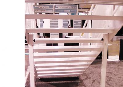Aluminum Open Tread Stair