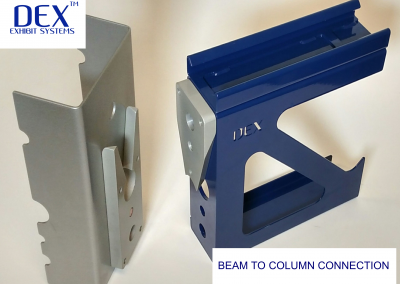 Column to beam connection