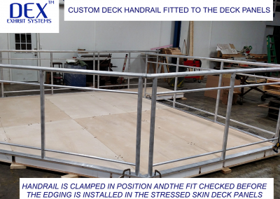 Deck Handrail Fitting