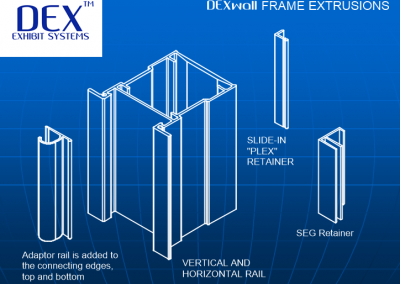 DEXwall Frame Extrusions